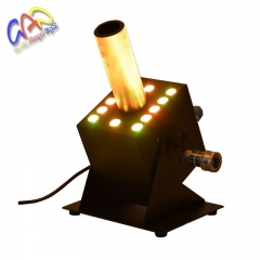 12*3W LED CO2 Jet Cannon Machine