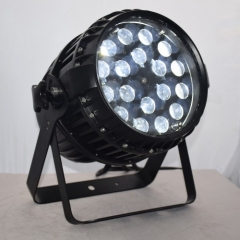 18*10W outdoor 4in1 led par light with zoom